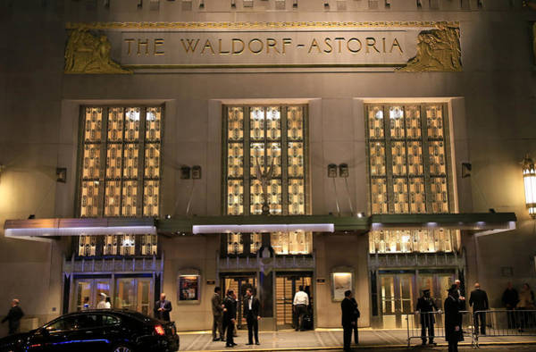 Astoria Photograph - Waldorf Astoria Hotel 1 by Andrew Fare