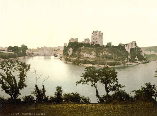 Wall Art - Photograph - Wales Pembroke Castle by Granger