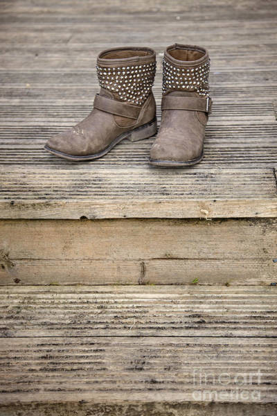 Wall Art - Photograph - Walk A Mile In My Shoes by Evelina Kremsdorf