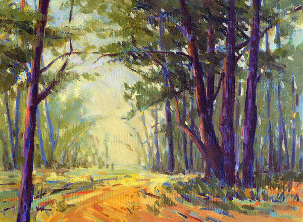 Painting - Walk In The Woods 5 by Konnie Kim