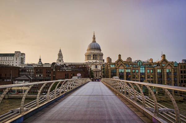 Wall Art - Photograph - Walk To St Pauls by Heather Applegate