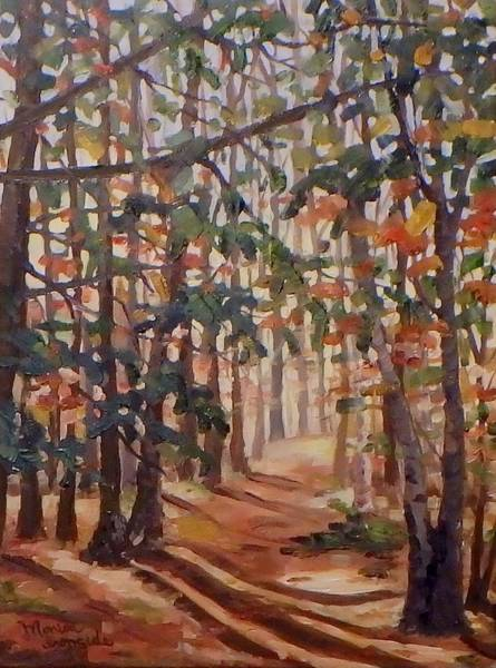 Painting - Walk With Me by Monica Ironside