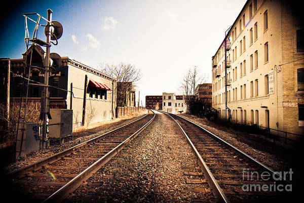 Mke Photograph - Walkers Point Railway by Andrew Slater