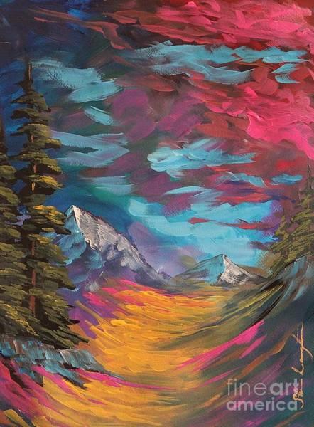 Wall Art - Painting - Walking Alone by Steven Lebron Langston