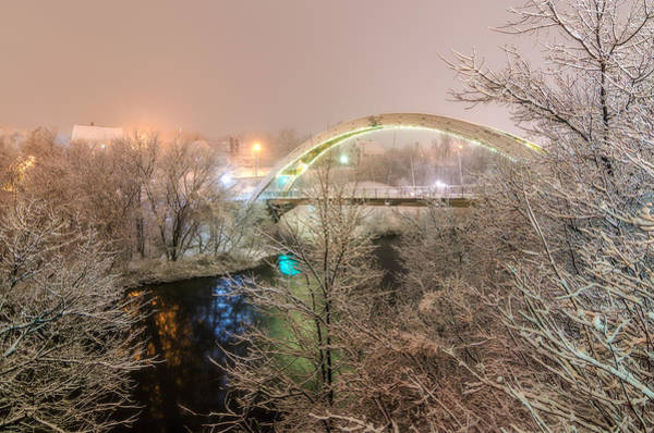 Houlton Photograph - Walking Bridge Wonderland by Christopher Mills