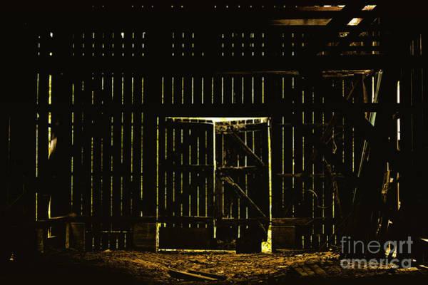 Barn Door Photograph - Walking Dead by Andrew Paranavitana