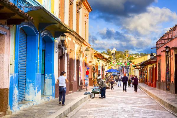 Photograph - Walking In San Cristobal De Las Casas by Mark Tisdale