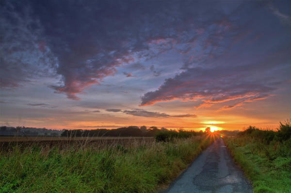 Pickering Photograph - Walking Into The Sun by Paul Downing