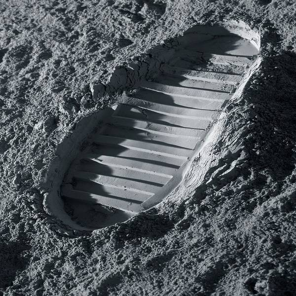Professions Photograph - Walking On The Moon by Detlev Van Ravenswaay