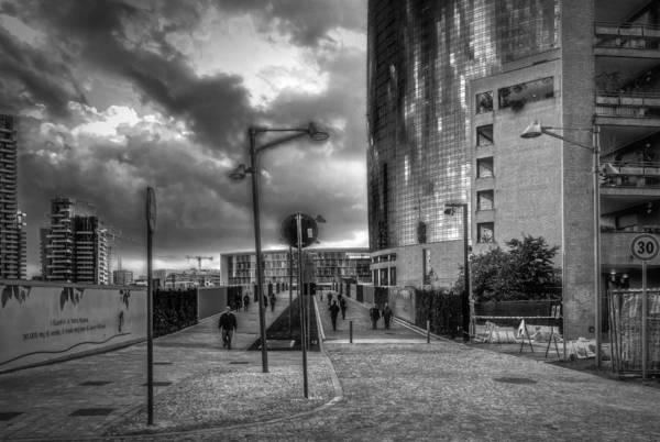 Photograph - Walking by Roberto Pagani