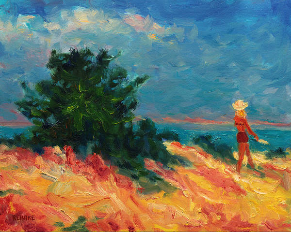 Painting - Walking The Dunes by Vernon Reinike