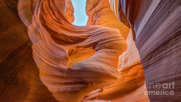 Photograph - Walking Through Lower Antelope Canyon by Michael Ver Sprill