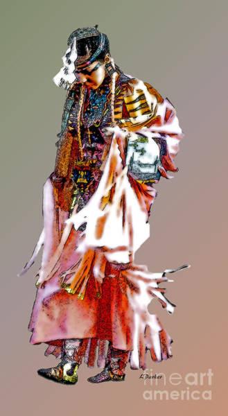 Powwow Wall Art - Photograph - Walking To Powwow by Linda  Parker