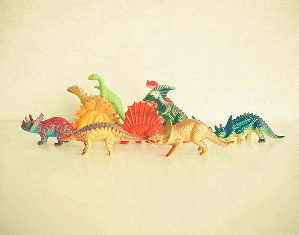 Dinosaurs Photograph - Walking With Dinosaurs by Cassia Beck