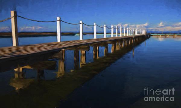 Wall Art - Photograph - Walkway At Narrabeen Lagoon by Sheila Smart Fine Art Photography