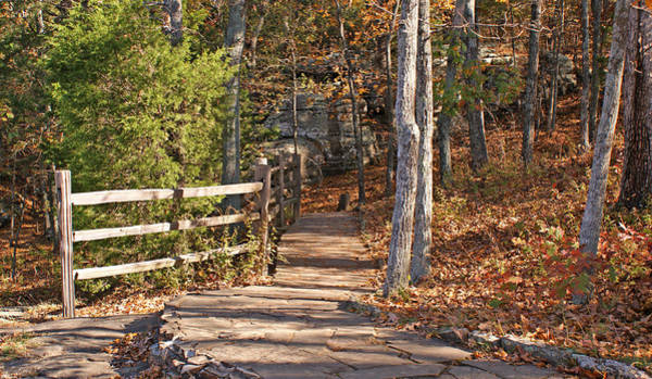Photograph - Walkway In Garden Of The Gods by Sandy Keeton