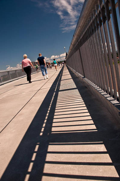 Photograph - Walkway Over The Hudson by Nancy De Flon