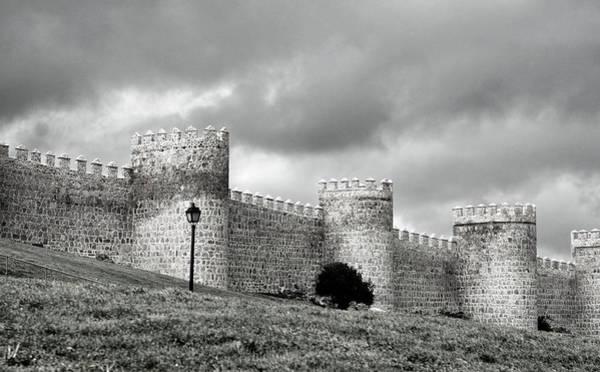Photograph - Wall Against Clouds by Lorraine Devon Wilke