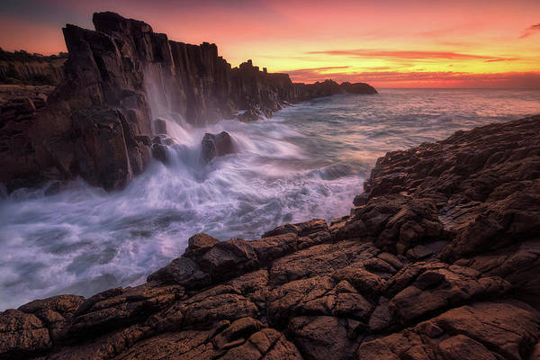 Wall Art - Photograph - Wall By The Sea by Joshua Zhang