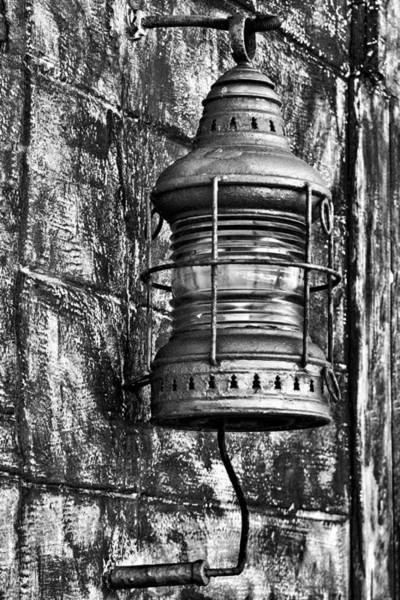 Photograph - Wall Lantern by Bill Barber