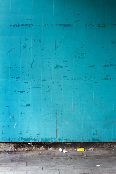 Grimy Wall Art - Photograph - Wall by Fizzy Image