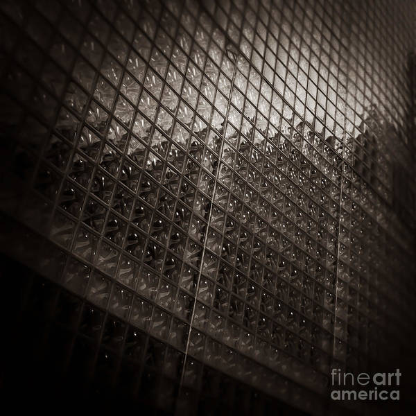 Photograph - Wall Of Glass Memphis Tennessee by T Lowry Wilson