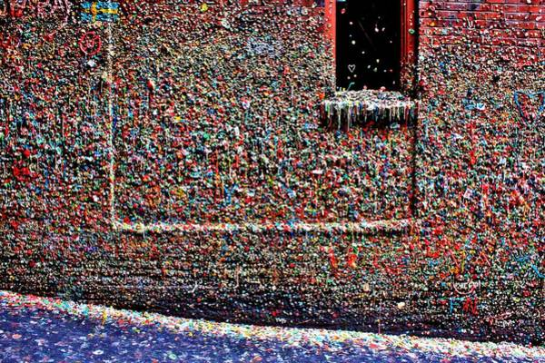 Wall Art - Photograph - Wall Of Gum by Benjamin Yeager