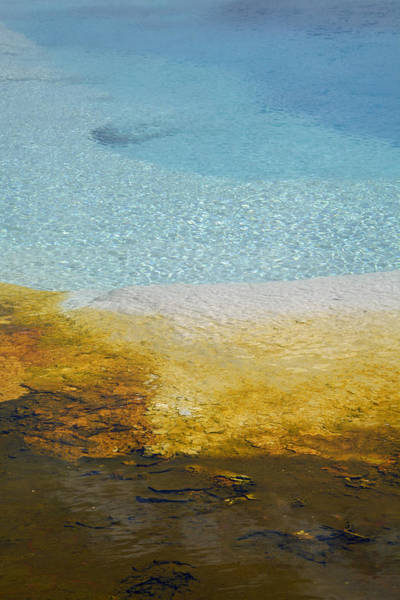 Photograph - Wall Pool In Yellowstone National Park by Bruce Gourley