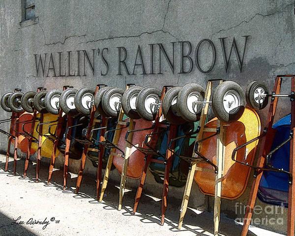Photograph - Wallin's Rainbow by Lee Owenby
