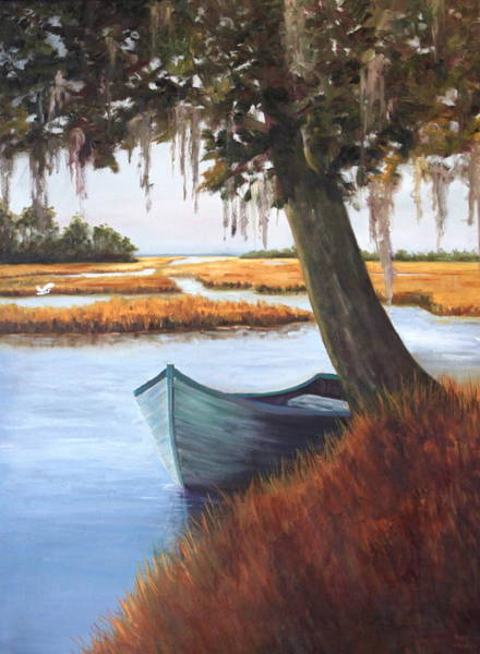 Wallowing In The Marsh Art Print