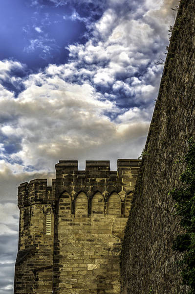 Photograph - Walls And Turrets by Sara Hudock