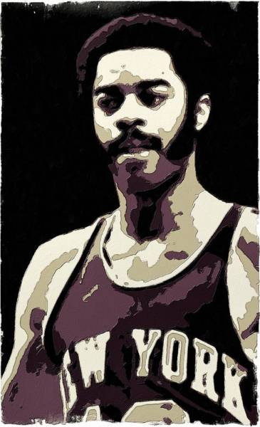 Wall Art - Painting - Walt Frazier Poster Art by Florian Rodarte