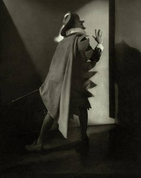 January 1st Photograph - Walter Hampden As Cyrano De Bergerac by Edward Steichen