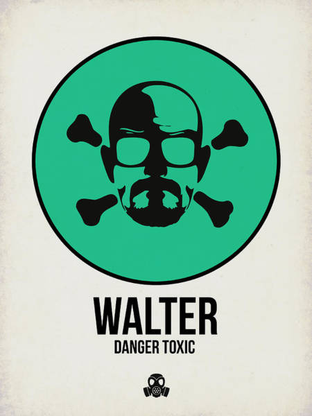 Wall Art - Digital Art - Walter Poster 1 by Naxart Studio