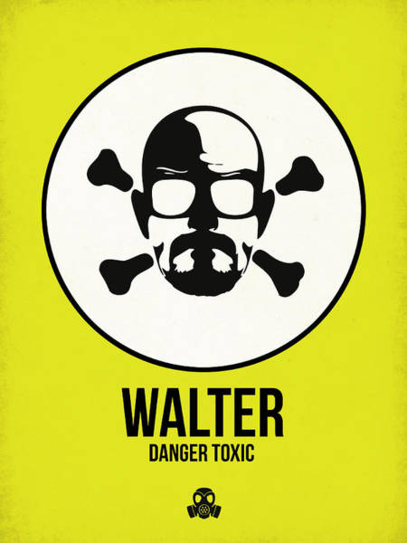 Wall Art - Digital Art - Walter Poster 2 by Naxart Studio