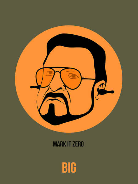 Cinematography Painting - Walter Sobchak Poster 1 by Naxart Studio