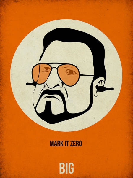 Cinematography Painting - Walter Sobchak Poster by Naxart Studio
