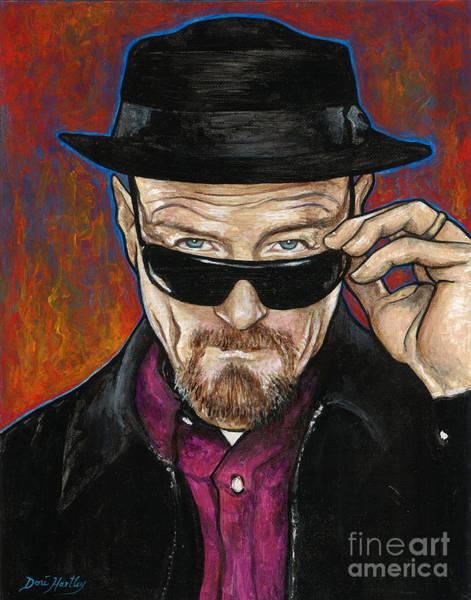 Bryan Painting - Walter White by Dori Hartley