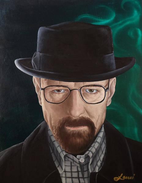 Bryan Painting - Walter White by Lauri Loewenberg