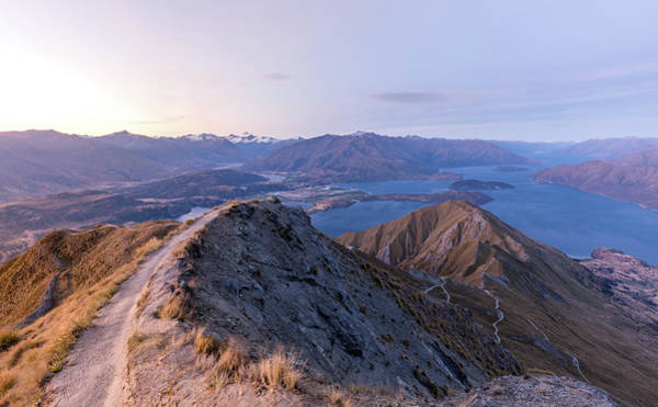 Maria Island Wall Art - Photograph - Wanaka - Panoramic View From Roys Peak by Maria Swärd