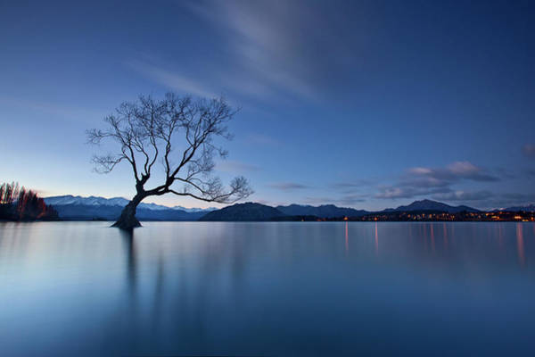 New Zealand Photograph - Wanaka Twilight by Yan Zhang