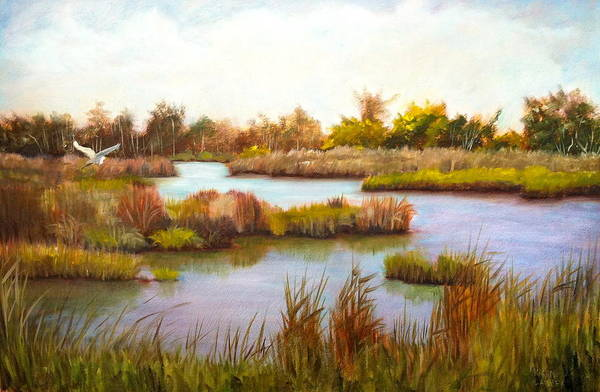 Wanchese Marsh Art Print