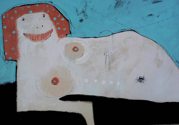Seductive Painting - Wanderer No. 16 by Mark M  Mellon