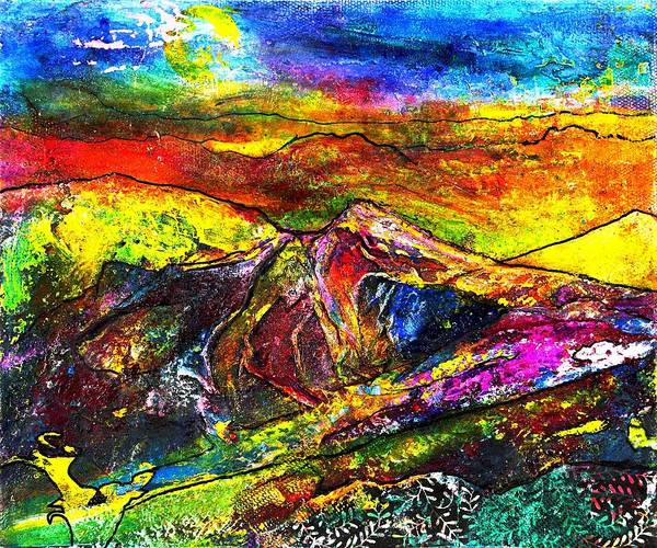 Exploring Mixed Media - Wandering by Wendy Butler
