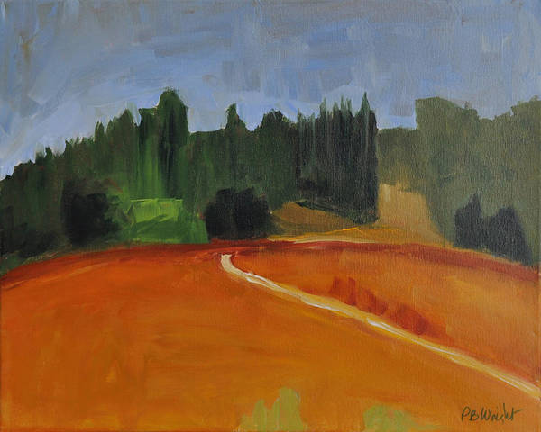 Painting - Wanderings by Paulette B Wright