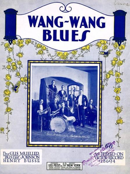 Wall Art - Photograph - Wang Wang Blues by Mel Thompson