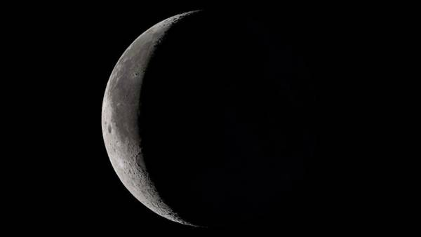 Lola Photograph - Waning Crescent Moon by Nasa's Scientific Visualization Studio/science Photo Library