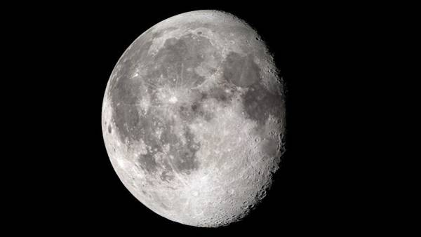 Lola Photograph - Waning Gibbous Moon by Nasa's Scientific Visualization Studio/science Photo Library