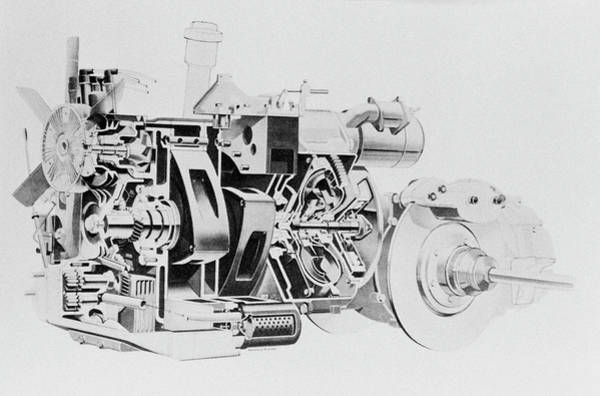 Rotary Photograph - Wankel Engine by Science Photo Library