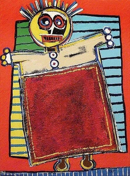 Brian Wilson Wall Art - Painting - Wannabe by Brian Wilson